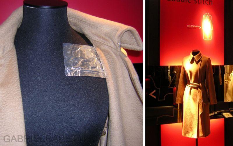 Cappotti interattivi per Max Mara