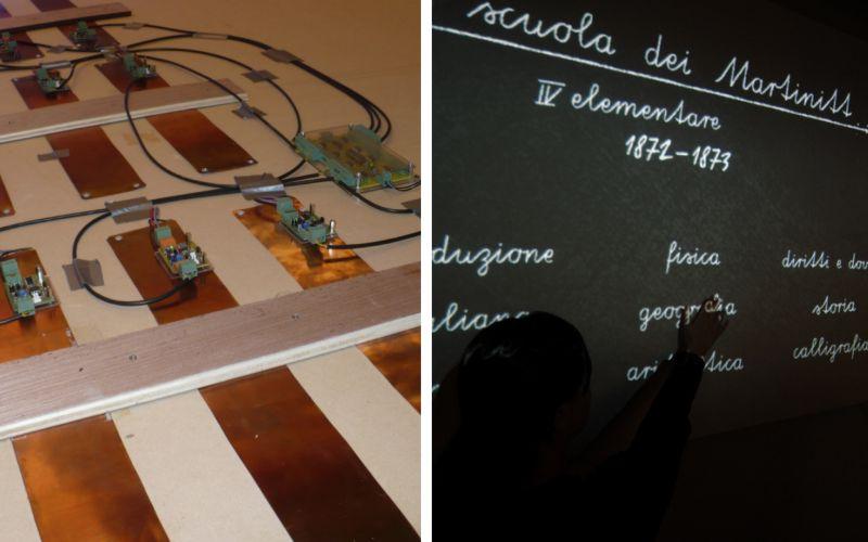 Lavagna interattiva Museo Martinitt Stelline
