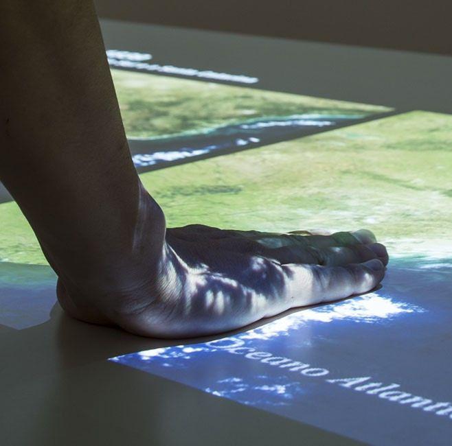 Sensori di tocco per tavolo interattivo