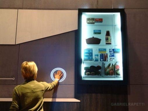 Sensori di tocco nella mostra di Iren