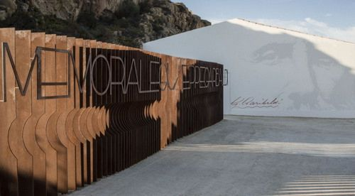Ingresso al memoriale Garibaldi*