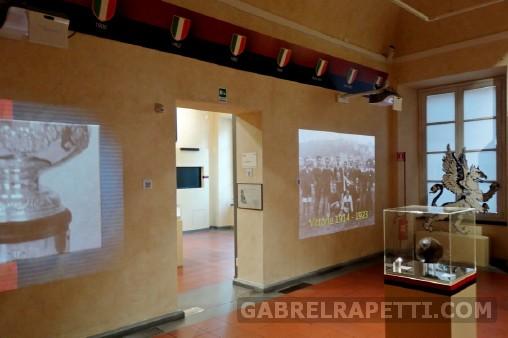 Sistemi multimediali per il Museo del Genoa (Genova)