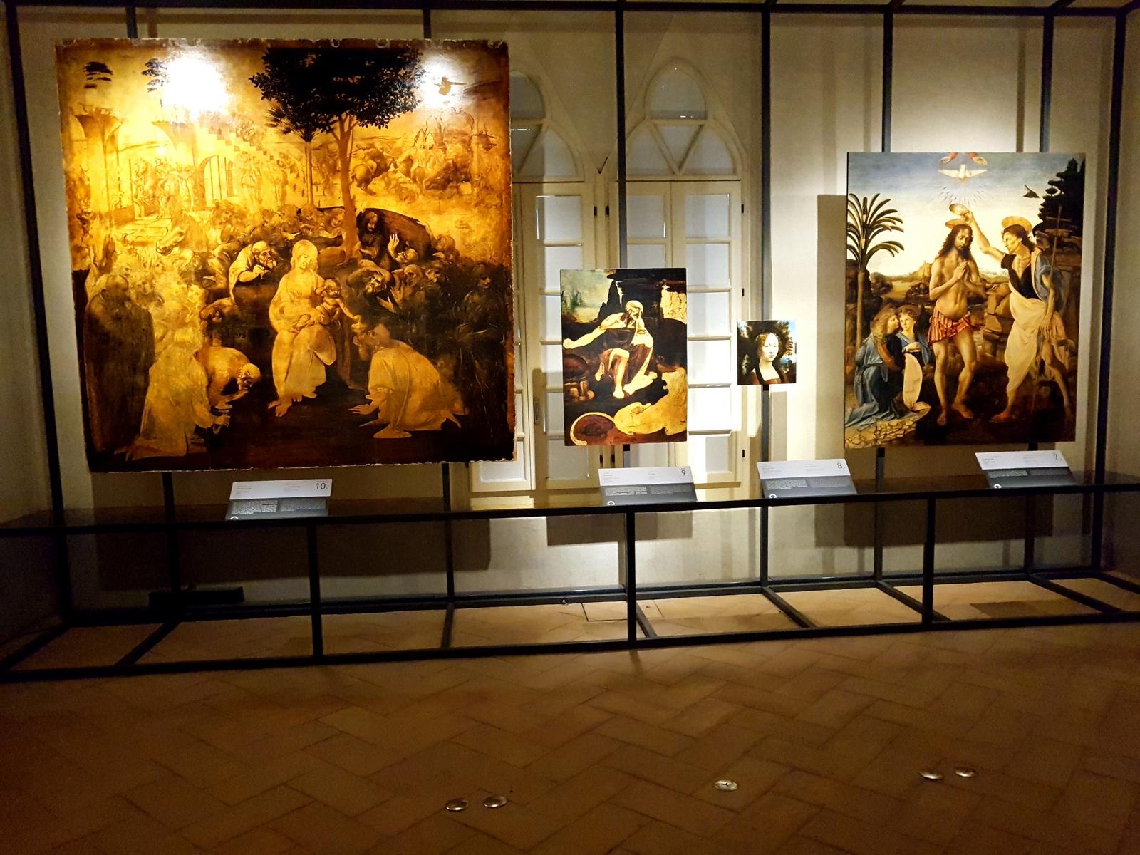 Riproduzioni di allta qualità e a scala reale delle opere di Leonardo